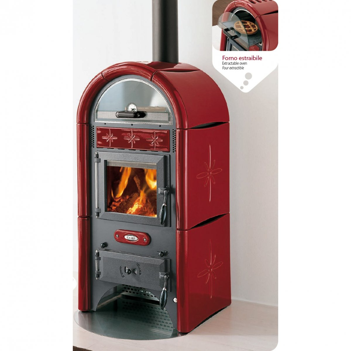 Wood stove model SUN - Cadel - Bonus tax 50%