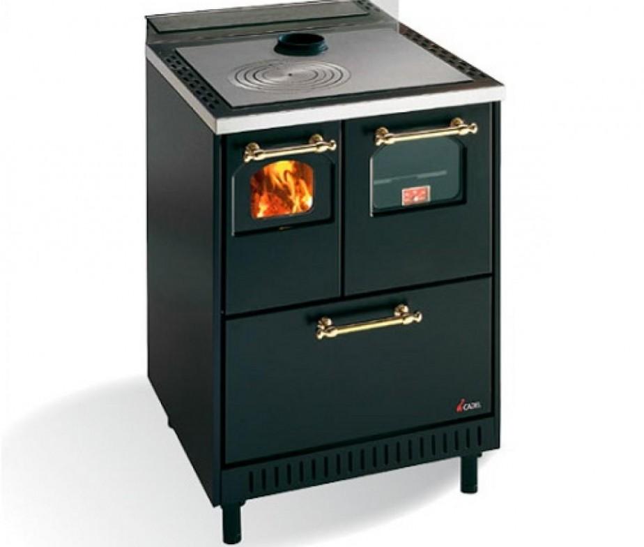 Fercas cucina cadel economica a legna modello jolly for Cucina economica a legna