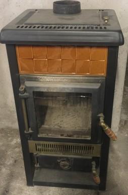 stufa-legna-usata-6kw-arancione